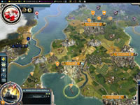 Giving a unit orders in Sid Meier's Civilization V: Gods and Kings