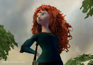 Merida from Brave: The Video Game