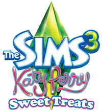 The Sims 3: Katy Perry Sweet Treats game logo