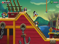 A good rendition of a cannon in Disney Epic Mickey: Power of Illusion