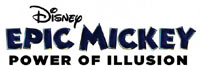 Disney Epic Mickey: Power of Illusion game logo