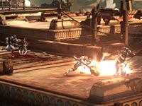 Multiplayer screen from God of War: Ascension