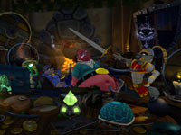 The Cooper Gang gathered together in Sly Cooper: Thieves in Time for PS Vita