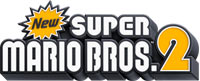 New Super Mario Bros 2 game logo