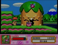 Screenshot from Kirby's Super Star, part of Kirby's Dream Collection