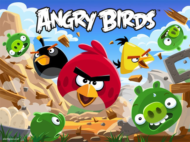 amazoncom angry birds trilogy xbox 360 video games angry birds 650x488