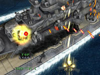 Avoiding fire in Under Defeat HD Deluxe Edition
