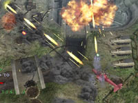 Attacking a fortified artiliry battery in Under Defeat HD Deluxe Edition