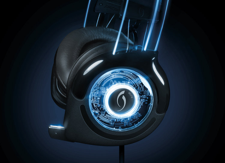 Amazon.com: Afterglow Universal Wired Headset - Blue: Xbox 360 ...