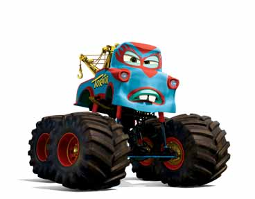 monster truck mater - Monster Truck Mater Coloring Page