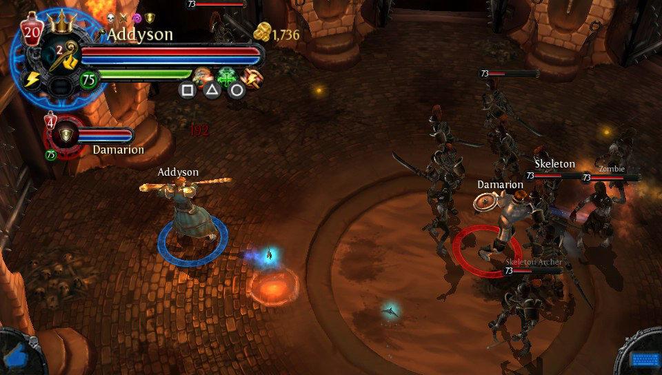 Amazon.com: Dungeon Hunter Alliance - PlayStation Vita: UbiSoft: Video
