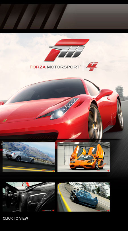 Forza 4 Release Date