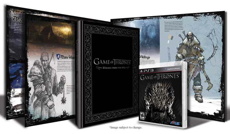 Amazon.com: Game of Thrones Art Book Bundle - Playstation