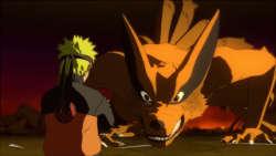 Naruto versus Nine-Tails