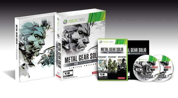 METAL GEAR SOLID HD COLLECTION LTD. EDITION