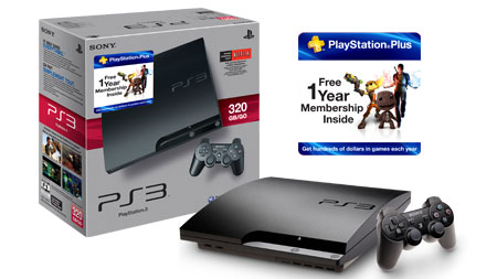 320GB PS3 Plus Bundle