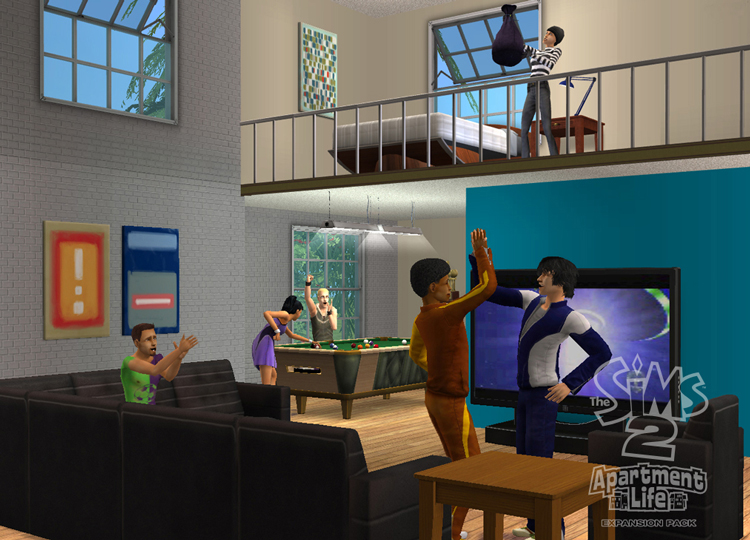 The Sims 2: Apartment Life Expansion Pack