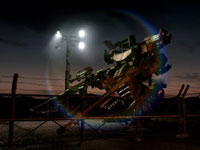 A small mech on duty in Armored Core V