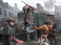 Multiplayer screen from Assassin's Creed III