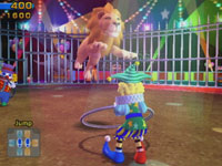 Lion taming attraction from Active Life: Magical Carnival