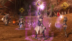 Develop your skill as a warrior in Aion'