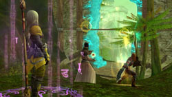 Quest through vivid environments in 'Aion: The Tower of Eternity'