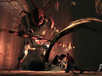 Alice battling a boss in Alice: Madness Returns