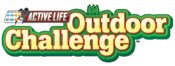'Active Life Outdoor Challenge' game logo