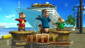 Alvin and the Chipmunks: Chipwrecked screenshot