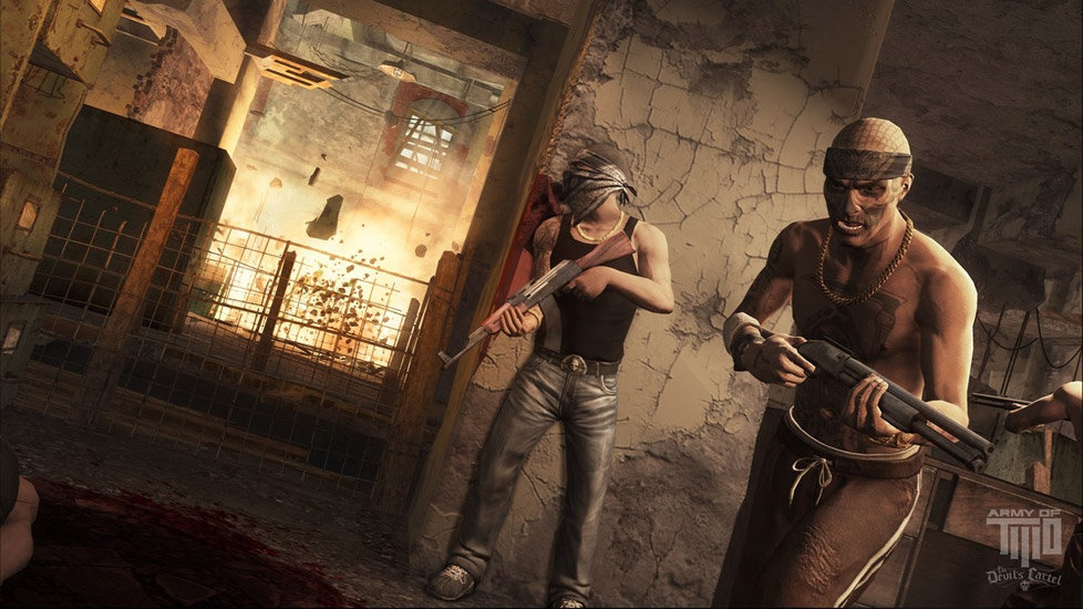 Cartel Thugs Coming For You In Army Of TWO The Devils