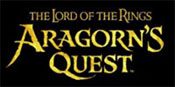 Lord of the Rings: Aragorn's Quest game logo