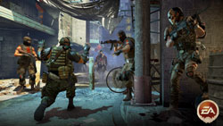 feigning surrendur as a co-op tactic in Army of Two: The 40th Day