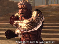 Asura deceived and betrayed in heaven in Asura's Wrath