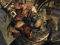 Asura battling a buddha-like enemy in Asura's Wrath