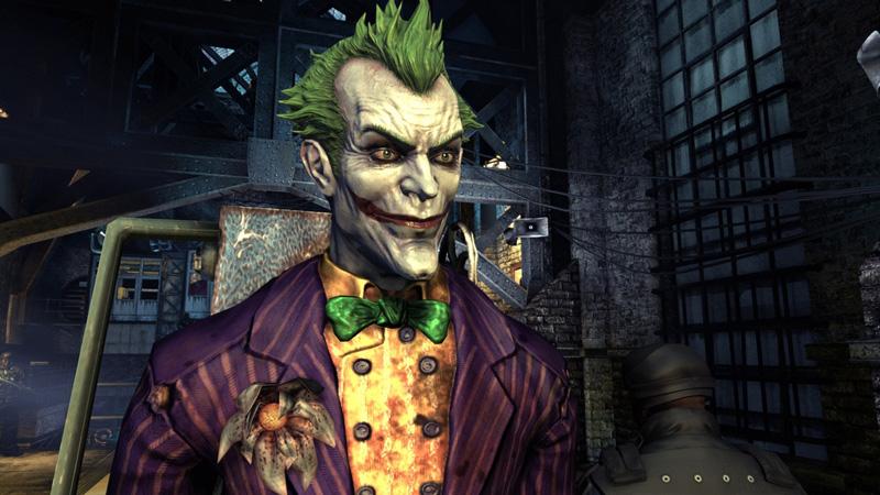 The Joker in 'Batman: Arkham Asylum'