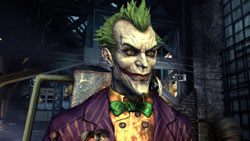 The Joker in Batman: Arkham Asylum