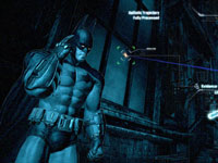 Investigative gameplay in Batman: Arkham City's Dectective Mode