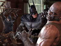 Batman invloved in close quarter melee combat in Batman: Arkham City