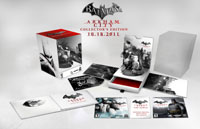 The Batman: Arkham City Collector's Edition box contents