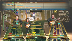 Rock Band style play across all eras of The Beatles' career in The Beatles: Rock Band