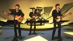 The Ed Sullivan Show gameplay venue from The Beatles: Rock Band
