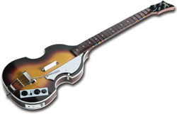Paul McCartney's trademark - Höfner bass available for The Beatles: Rock Band