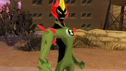 Swampfire from 'Ben 10: Alien Force'