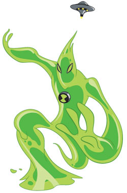 Goop from 'Ben 10: Alien Force'