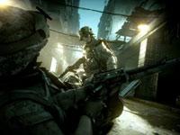 Helping a fallen squadmate in Battlefield 3