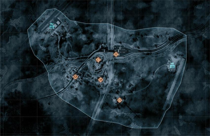 Battlefield 3 Map