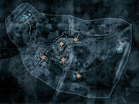 A gameplay map from Battlefield 3