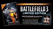 Battlefield 3 'Back to Karkand' expansion pack pre-order bonus