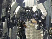 Dan Marshall targeting a huge bot in Binary Domain