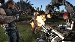 FPS/RPG hybrid gameplay in 'Borderlands'